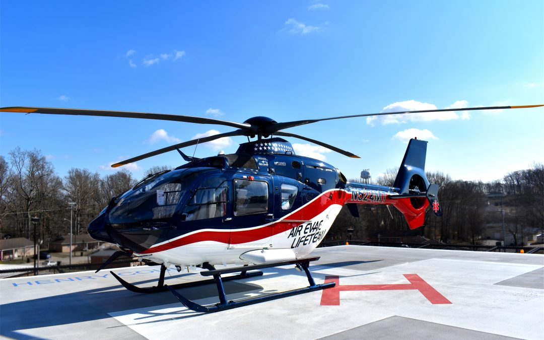 AIR EVAC LIFETEAM OPENS AIR MEDICAL BASE IN WESTERN TENNESSEE