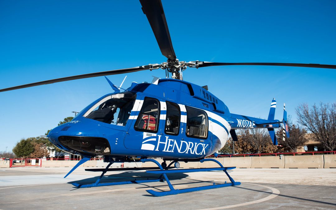 ABILENE AIR EVAC LIFETEAM HELICOPTER HAS A NEW LOOK