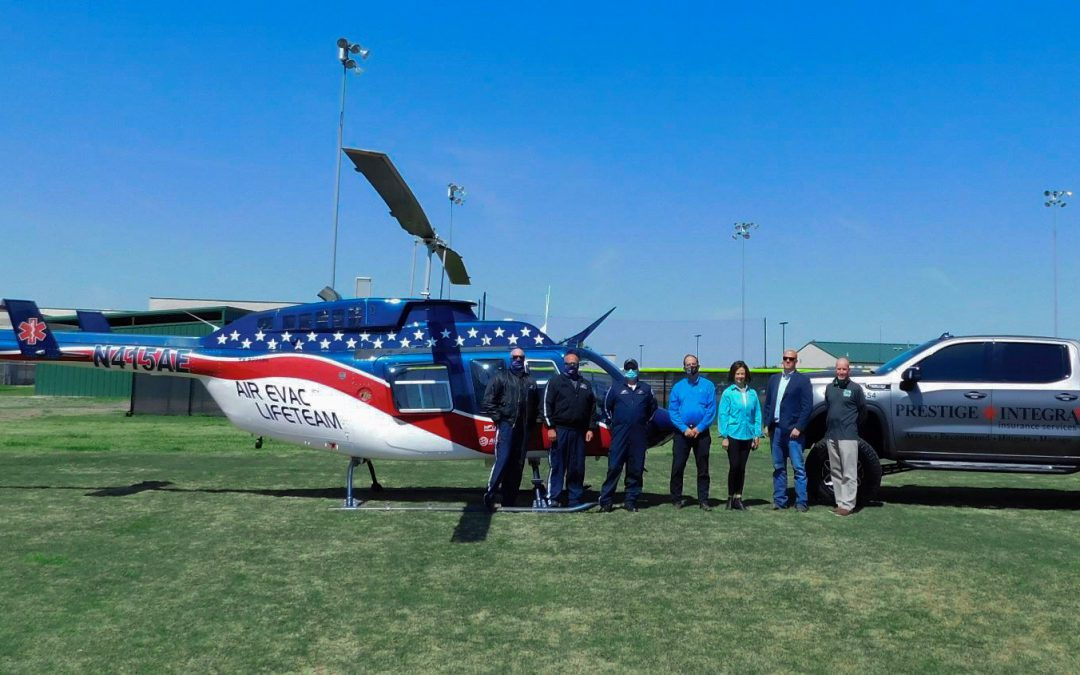 INSURANCE AGENCY PURCHASES AIR EVAC LIFETEAM MEMBERSHIP FOR SCHOOL ATHLETES