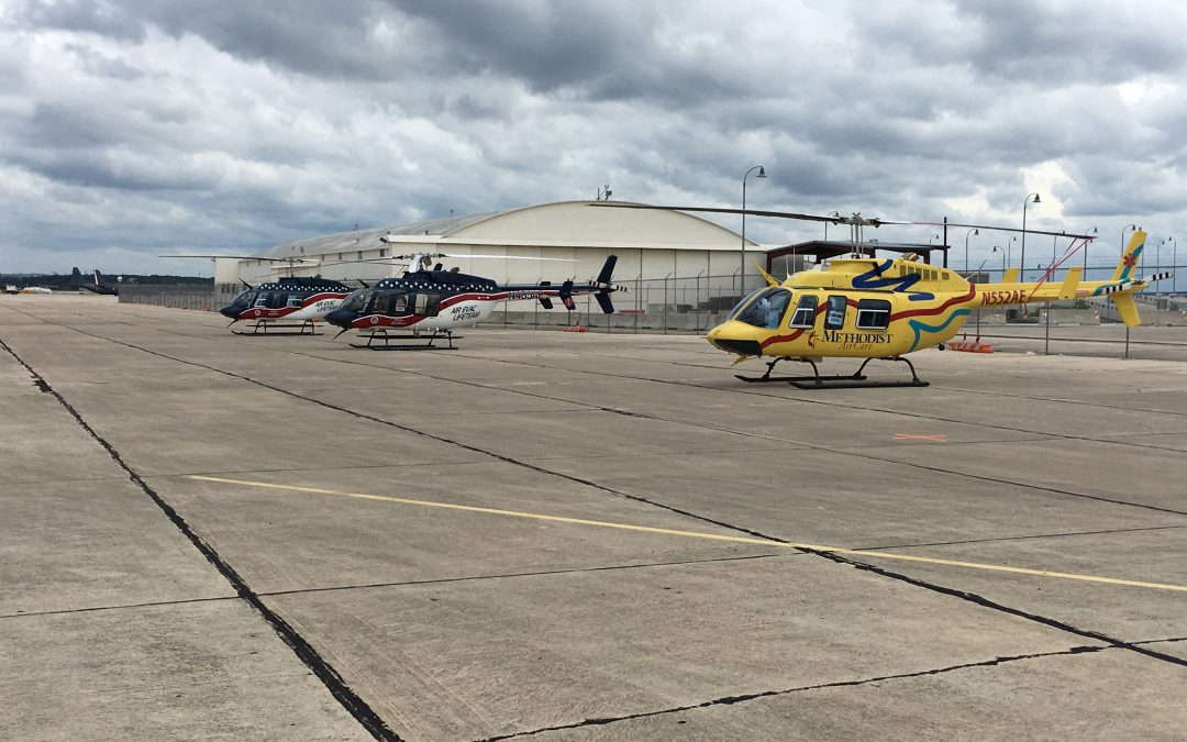 Air Evac Lifeteam Deploys 14 Aircraft to Evacuate Critically Ill and Injured Patients in Southern Texas