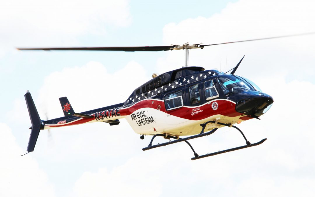Air Evac Lifeteam Responds to AMR Request for EMS Deployment
